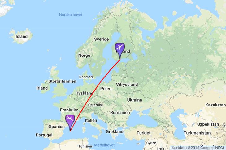 Lentoaika Helsinki Palma De Mallorca